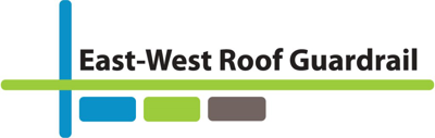 East West Roof Guardrail